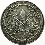 reverse:  Pio X (1903-1914), Giuseppe Melchiorre Sarto Medaglia straordianria A. I, per l elezione al pontificato.