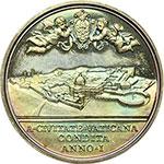 reverse:  Pio XI (1922-1939), Achille Ratti Medaglia annuale, anno IX