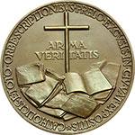 reverse:  Pio XI (1922-1939), Achille Ratti Medaglia A. XV, per l esposizione della stampa cattolica mondiale in Vaticano.