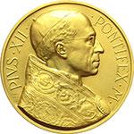 obverse:  Pio XII (1939-1958), Eugenio Pacelli Medaglia s.d. (1950)  Proclamazione del Dogma dell Assunzione