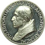 obverse:  Pio XII (1939-1958), Eugenio Pacelli Medaglia straordinaria 1950, proclamazione del Dogma dell Assunzione della Beata Vergine al Cielo