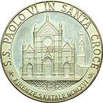 obverse:  Paolo VI (1963-1678), Giovanni Battista Montini Medaglia straordinaria 1966 per l alluvione di Firenze.