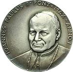 obverse:  Giovanni Paolo II (1978-2005), Karol Wojtyla Medaglia anno I per l elezione al pontificato.