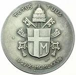 reverse:  Giovanni Paolo II (1978-2005), Karol Wojtyla Medaglia anno I per l elezione al pontificato.