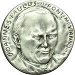 obverse:  Giovanni Paolo II (1978-2005) Medaglia annuale A. III