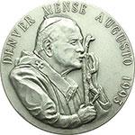 obverse:  Giovanni Paolo II (1978-2005), Karol Wojtyla Medaglia 1993 per la VII giornata mondiale della gioventù a Denver.