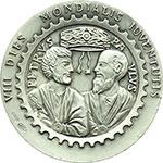 reverse:  Giovanni Paolo II (1978-2005), Karol Wojtyla Medaglia 1993 per la VII giornata mondiale della gioventù a Denver.