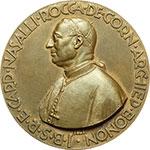 obverse:  Bologna  Giovanni Battista Nasalli Rocca (1872-1952) Medaglia celebrativa 1932 per il Seminario.