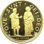 reverse:  Ferrara  Alfonso I d Este (1505-1534) Medaglia commemorativa del 1969.