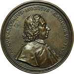 obverse:  Firenze  Marco Antonio Mozzi (1678-1736) Medaglia 1730.