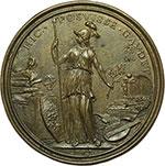 reverse:  Firenze  Marco Antonio Mozzi (1678-1736) Medaglia 1730.