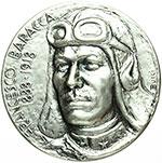 obverse:  Lugo  Francesco Baracca (1888-1918) Medaglia 1988 per il centenario della nascita.