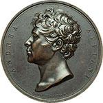 obverse:  Milano  Andrea Appiani (1754-1817). Medaglia 1826 per l erezione del monumento.