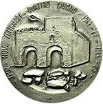 reverse:  Roma   Medaglia per il XXV (1969) della resistenza e liberazione di Roma.