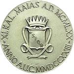 obverse:  Roma   Medaglia 1970 per il decentramento amministrativo.
