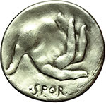 reverse:  Roma   Medaglia 1971 per il centenario della nascita di Carlo Alberto Salustri, in arte Trilussa (1871-1950).