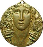 obverse:  San Marino   Medaglia 1908 per il IV congresso nazionale per la Pace.