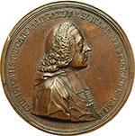 obverse:  Trento  Cristoforo Migazzi, (Trento, 1714 - Vienna 1803), Principe e Arcivescovo di Vienna dal 1757 Medaglia 1761 per l elevazione a Cardinale da parte di Clemente XIII