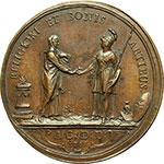 reverse:  Trento  Cristoforo Migazzi, (Trento, 1714 - Vienna 1803), Principe e Arcivescovo di Vienna dal 1757 Medaglia 1761 per l elevazione a Cardinale da parte di Clemente XIII