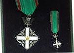 obverse:   Croce di Cavaliere Al Merito della Repubblica Italiana