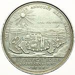 obverse:  Austria  Leopoldo I (1657-1705) Medaglia 1688, per la conquista di Székesfehérvár (Belgrado).