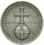 reverse:  Germania  III Reich (1932-1945) Medaglia 1938, celebrativa la creazione del \
