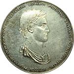 obverse:  Messico  Ferdinando VII (1808-1822). Medaglia 1814