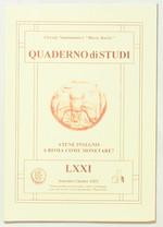 obverse:  CORRADI, L. Atene insegnò a Roma come monetare?