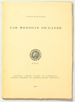 obverse:  DE GUADAN, A.M. Las monedas de Gades.