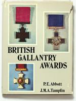 obverse:  ABBOTT, P.E. & TAMPLIN J.M.A.  British gallantry awards.