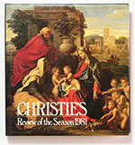 obverse:  CHRISTIE'S Review of the Season 1981. Edited by J. Herbert.