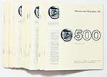 obverse:  MÜNZEN UND MEDAILLEN BASEL Lotto di 74 listini di vendita degli anni 1982 - 1988.