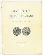 obverse:  RATTO, Mario. Monete di zecche italiane, monete estere.