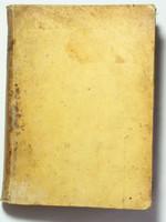 obverse:  MURATORI, L.A. Dissertazioni sopra le Antichità Italiane. Tomo terzo.