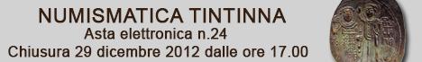 Banner Tintinna - Asta Elettronica 24