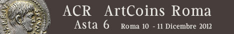 Banner ArtCoinsRoma Auction 6