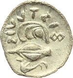 reverse:  Campania, Phistelia   Obolo, ca. 325-275 a.C.