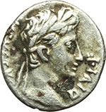 obverse:     Augusto (27 a.C - 14 d.C). Denario. Lugdunum, ca. 29-27 d.C. ?