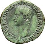 obverse:  Caligola (37-41). Asse, 40-41.