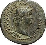 obverse:  Nerone (54 68). Asse, ca. 65 d.C.