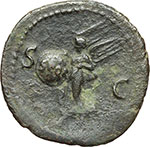 reverse:  Nerone (54 68). Asse, ca. 65 d.C.