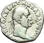obverse:  Galba (68-69). Denario.