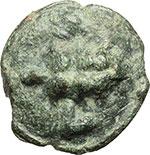 obverse:  Apulia, Luceria   Oncia, ca. 225-217 a.C.