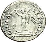 reverse:  Vespasiano (69-79). Denario, ca. 75 d.C.