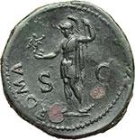 reverse:  Vespasiano (69-79). Sesterzio, ca. 71 d.C.