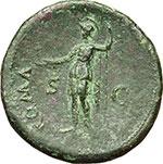 reverse:  Vespasiano (69-79). Sesterzio, 71 d.C.