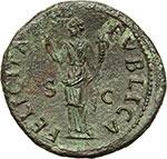 reverse:  Vespasiano (69-79). Dupondio, 74 d.C.