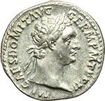 obverse:  Domiziano (81-96). Denario, ca. 92-93.