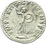 reverse:  Domiziano (81-96). Denario, ca. 92-93.
