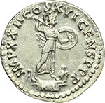 reverse:  Domiziano (81-96). Denario, ca. 93-94.
